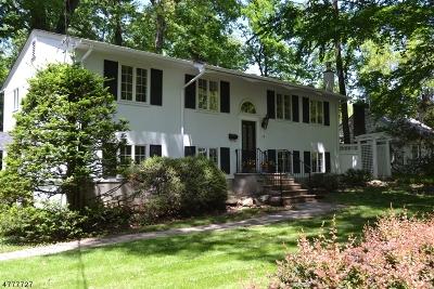 Mountain Lakes Boro Single Family Home For Sale: 19 Rainbow Trl