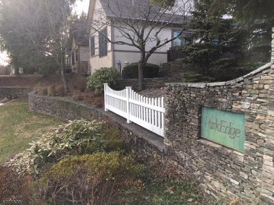 Berkeley Heights Condo/Townhouse For Sale: 71 Park Edge #71