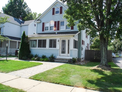 Morristown Town, Morris Twp. Single Family Home For Sale: 60 W Hanover Ave