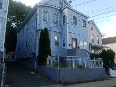 Passaic City Multi Family Home For Sale: 302 Sherman St