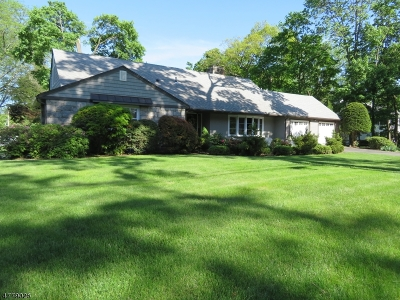 Morris Plains Boro Single Family Home For Sale: 155 Mountain Way