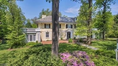 Summit Single Family Home For Sale: 81 Oak Ridge Ave