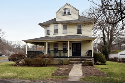Fanwood Boro Single Family Home For Sale: 174 Midway Ave