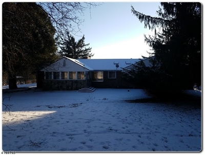 Califon Boro Single Family Home For Sale