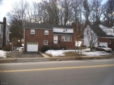 Morristown Town, Morris Twp. Single Family Home For Sale: 104 Sussex Ave