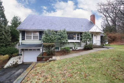 Wyckoff Twp. Single Family Home For Sale: 320 Cedar Hill Ave