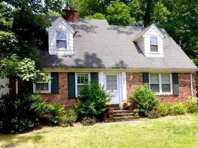 Chatham Twp Single Family Home For Sale: 244 Shunpike Rd