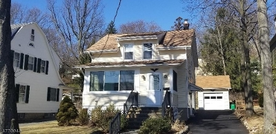 Morristown Town, Morris Twp. Single Family Home For Sale: 28 Colonial Rd