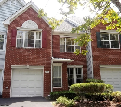 Readington Twp. Condo/Townhouse For Sale: 105 Springhouse Dr