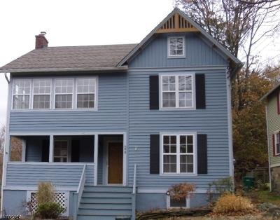 Califon Boro Single Family Home For Sale: 40 Main St