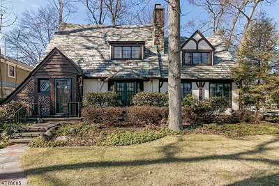 Westfield Town NJ Single Family Home For Sale: $820,000