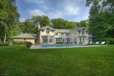 Harding Twp. NJ Single Family Home For Sale: $1,997,500