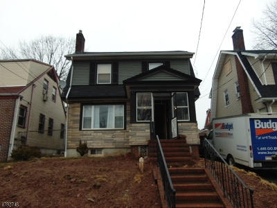 Hillside Twp. Single Family Home For Sale: 91 Bailey Ave