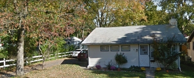 Parsippany Single Family Home For Sale: 52 Nokomis Ave