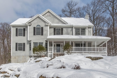 Sparta Twp. Single Family Home Active Under Contract: 7 Mount Pleasant Rd