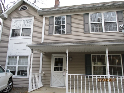 Bloomsbury Boro Single Family Home For Sale: 49 Willow Ave
