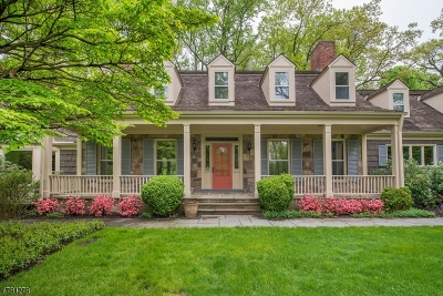 Bernardsville Boro Single Family Home For Sale: 60 Overleigh Rd