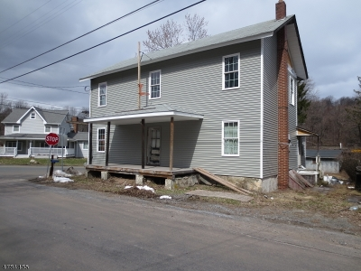 Union Twp. Single Family Home For Sale: 571 Main St, Pattenburg