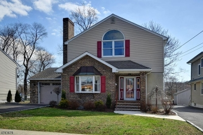 Cranford Twp. Single Family Home For Sale: 36 Myrtle St