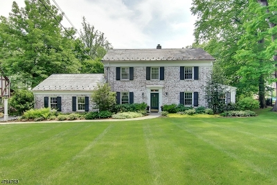 Morris Twp., Morristown Town Single Family Home For Sale: 40 Spring Brook Rd