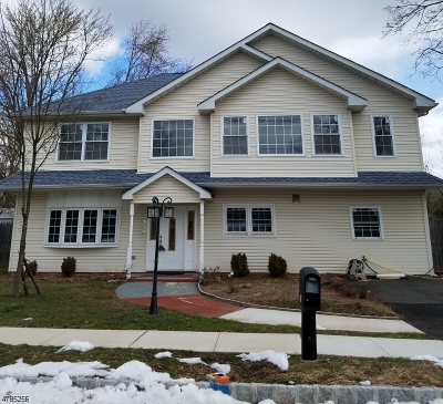 Piscataway Twp. Single Family Home For Sale: 1219 Brookside Rd