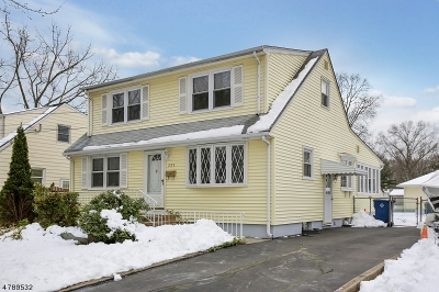 Fanwood Boro Single Family Home For Sale: 221 Forest Rd