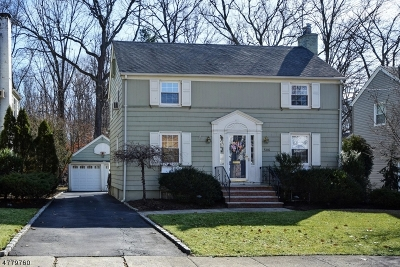 Cranford Twp. Single Family Home For Sale: 506 Casino Ave