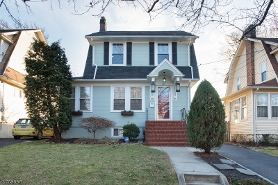 Westfield Town NJ Single Family Home For Sale: $600,000