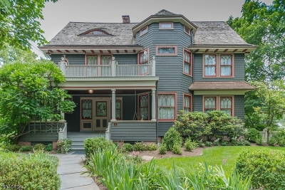 Westfield Town NJ Single Family Home For Sale: $1,675,000