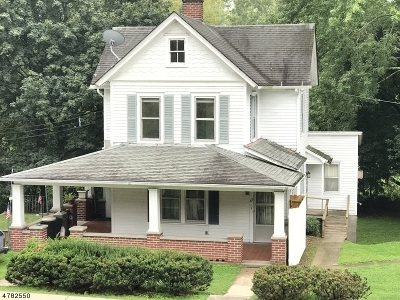 Holland Twp., Milford Boro Single Family Home For Sale: 68 Frenchtown Rd