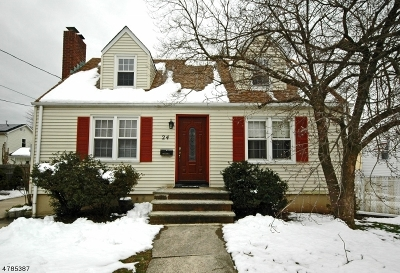 Edison Twp. Single Family Home For Sale: 24 Kimble St
