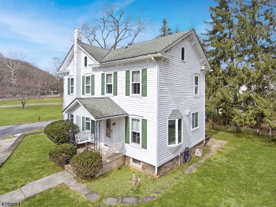 Holland Twp., Milford Boro Single Family Home For Sale: 112 York Rd