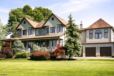 Hillsborough Twp. Single Family Home For Sale: 33 Wertsville Rd