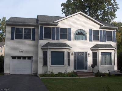 Parsippany-Troy Hills Twp. Single Family Home For Sale: 228 Longport Rd