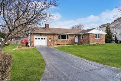 Bernards Twp., Bernardsville Boro Single Family Home For Sale: 20 Hill St