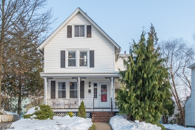 Morristown Town, Morris Twp. Single Family Home For Sale: 49 Mills Street