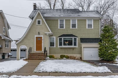 Cranford Twp. Single Family Home For Sale: 33 Columbia Ave