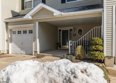 Morristown Town, Morris Twp. Condo/Townhouse For Sale: 57 Wildflower Lane