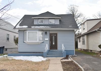 Roselle Park Boro Single Family Home For Sale: 132 W Roselle Ave