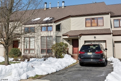 Bernards Twp., Bernardsville Boro Condo/Townhouse For Sale: 10 Franklin Ct