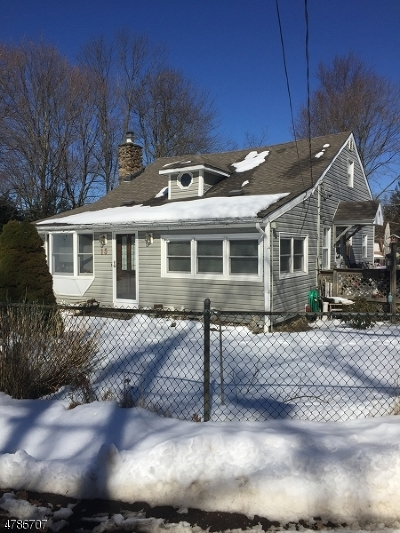 Mount Olive Twp. Single Family Home For Sale: 15 Elm St