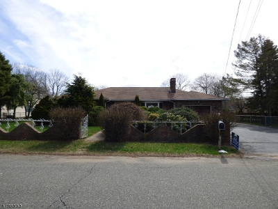 Roxbury Twp. Single Family Home For Sale: 11 Ballentine St