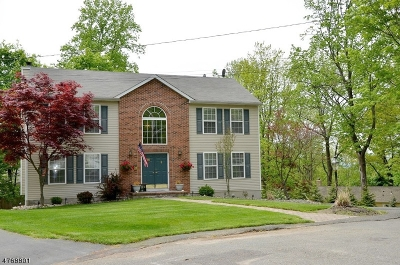 Sparta Twp. Single Family Home For Sale: 25 Tennis Ter