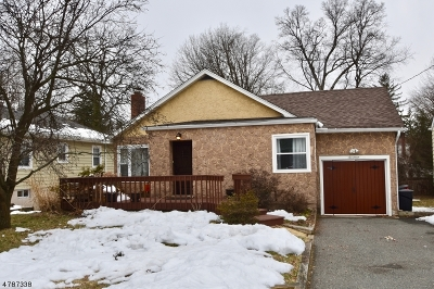 Denville Twp. Single Family Home For Sale: 17 Valley Rd