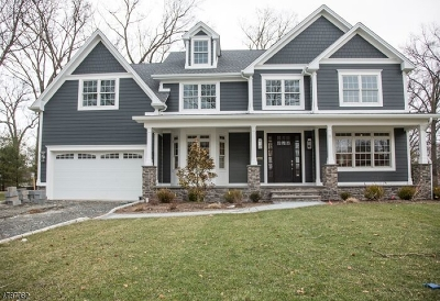 Westfield Town NJ Single Family Home For Sale: $1,549,900