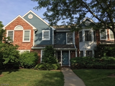 Rockaway Twp. Condo/Townhouse For Sale: 19 Hillsborough Ct