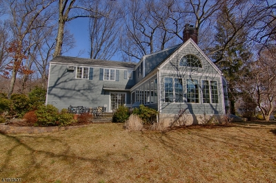 Bernardsville Boro Single Family Home For Sale: 10 Old Fort Rd