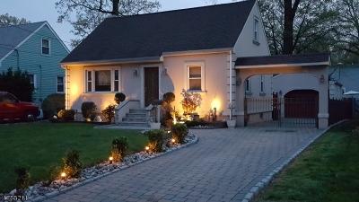 Kenilworth Boro Single Family Home For Sale: 339 Oakwood Ave