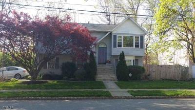 Kenilworth Boro Single Family Home For Sale: 261 Faitoute Ave