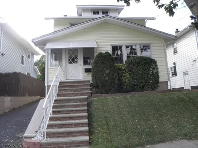 Hillside Twp. Single Family Home For Sale: 1314 Salem Ave